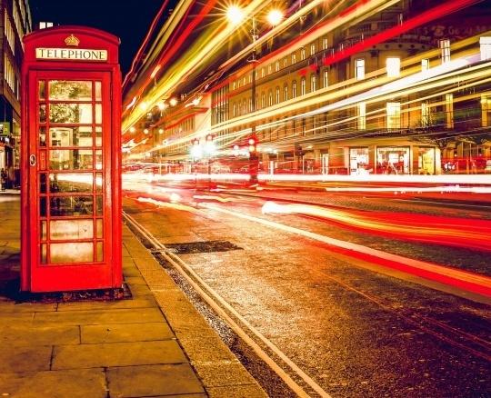B2B PR London Contact Phonebox