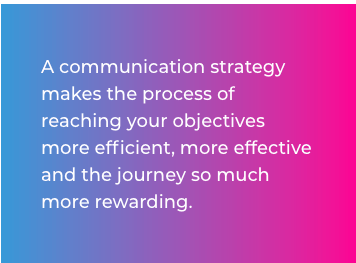 a communications strategy quote