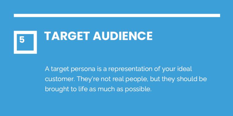 5. Target Audience