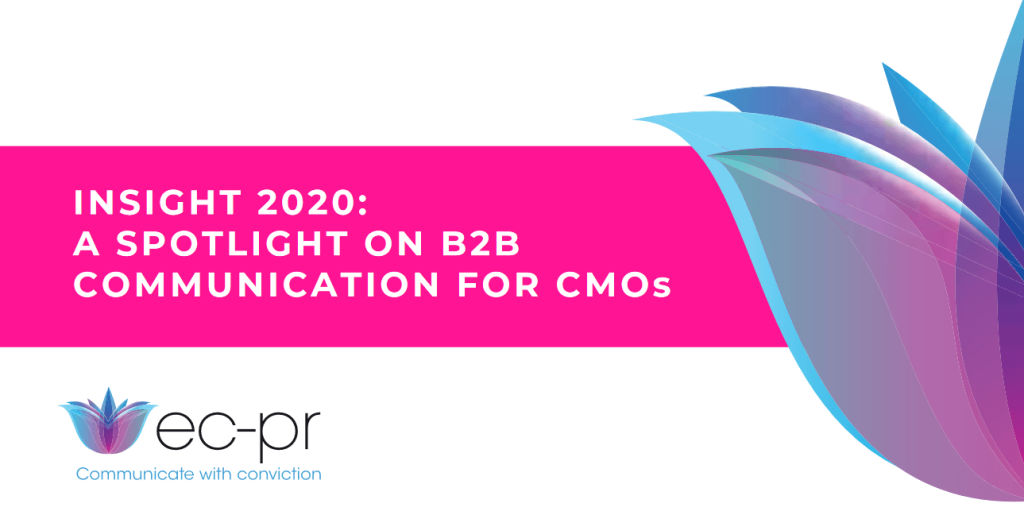 Insights 2020: A Spotlight on B2B Communication for CMOs