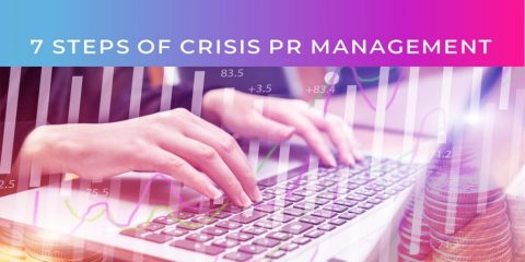 7 Steps of Crisis PR management