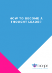 How to Become a Thought Leader cover