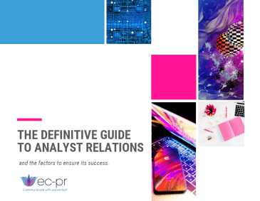 The Definitive Guide To Analyst Relations cover