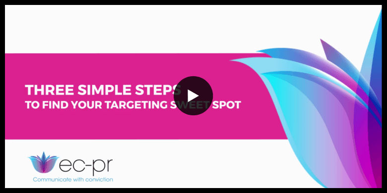 How to identify your target audience sweet spot in three simple steps