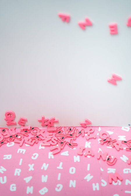 write press releases in your style but not pink magnetic letters