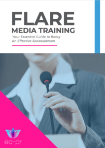 PR Guides: Flare Media Training cover