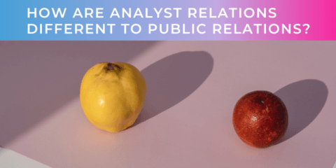 How Are Analyst Relations Different To Public Relations?