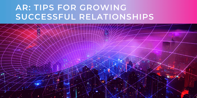 blog header for an article about growing successful relationships with analysts
