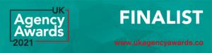 EC-PR PR Agency Campaign Finalist UK Agency Awards 2021 Finalist Banner