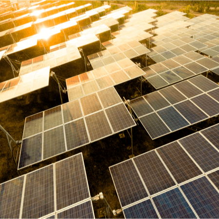 Environment PR - clean energy solar panels